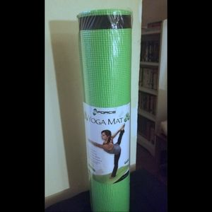GFORCE Premium Yoga Mat with Carrier Strap
